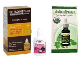 Антисептики из тайской аптеки