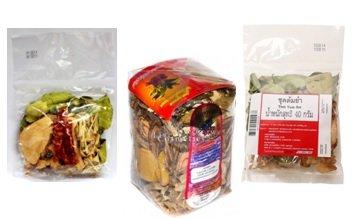 Древесные сборы из тайской аптеки