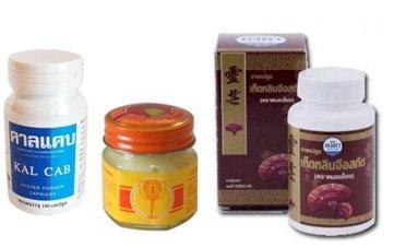 Комплексные препараты из тайской аптеки