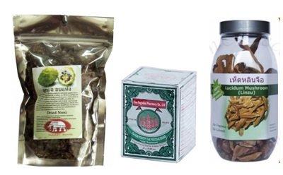 Чаи и настойки из тайской аптеки