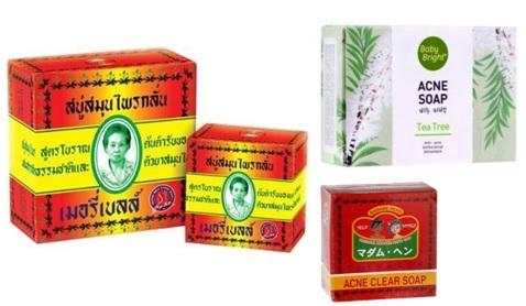 Лечебное мыло  для лица из Таиланда