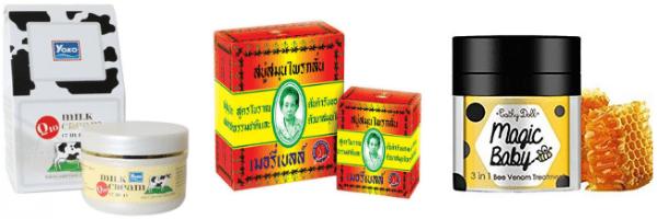 Тайська натуральна косметика для обличчя