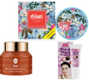 Маски для обличчя з Таїланду