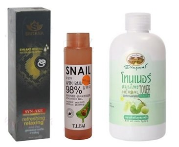Тоніки для очищення шкіри