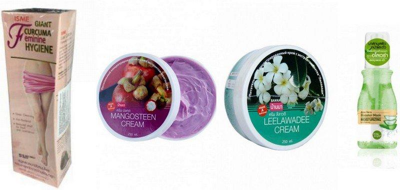 Лосьоны и крема для тела из Таиланда