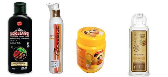 Засоби для догляду за волоссям з Таїланду